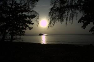 sunset in Pulau Perhentian Bresar