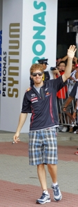 Vettel at Sepang
